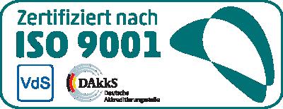 Die telenetwork AG ist Zertifiziert nach DIN EN ISO 9001